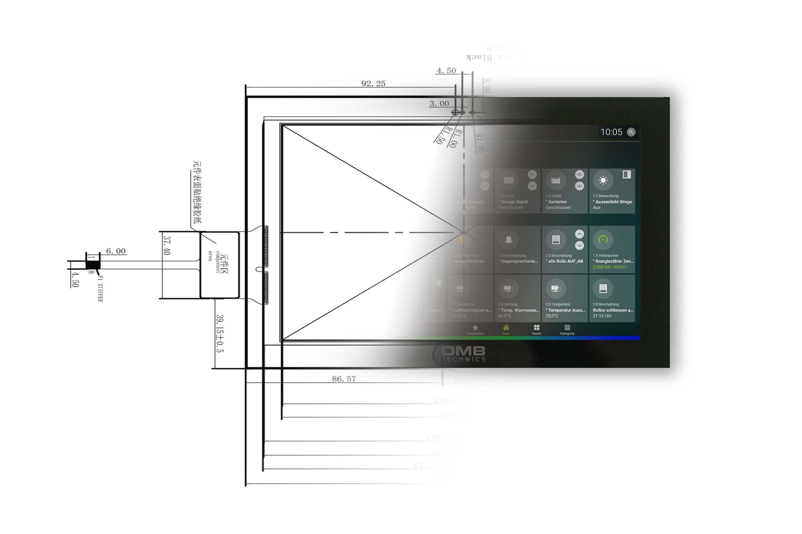Display TFT LCD