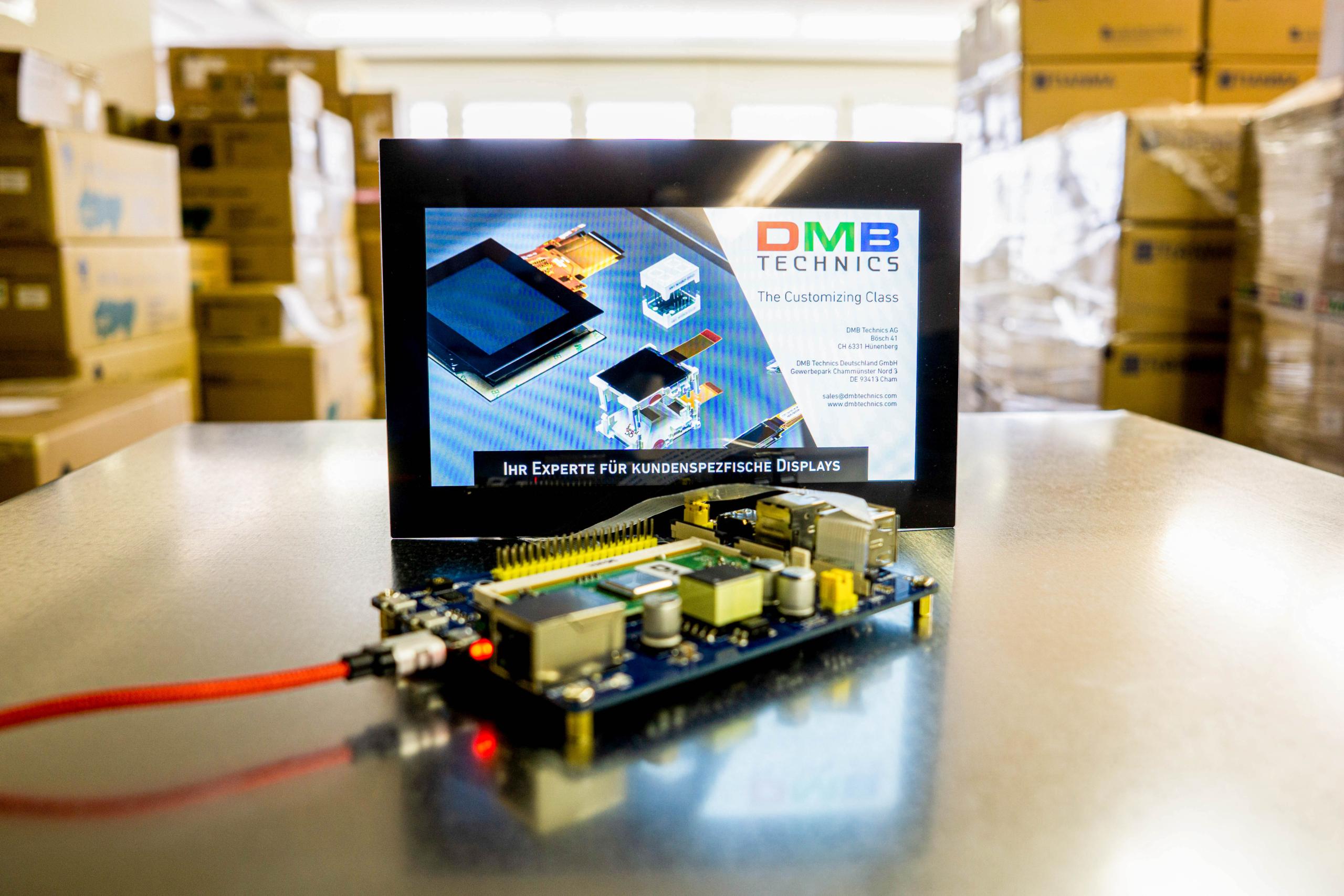 TFT Display Systemintegration