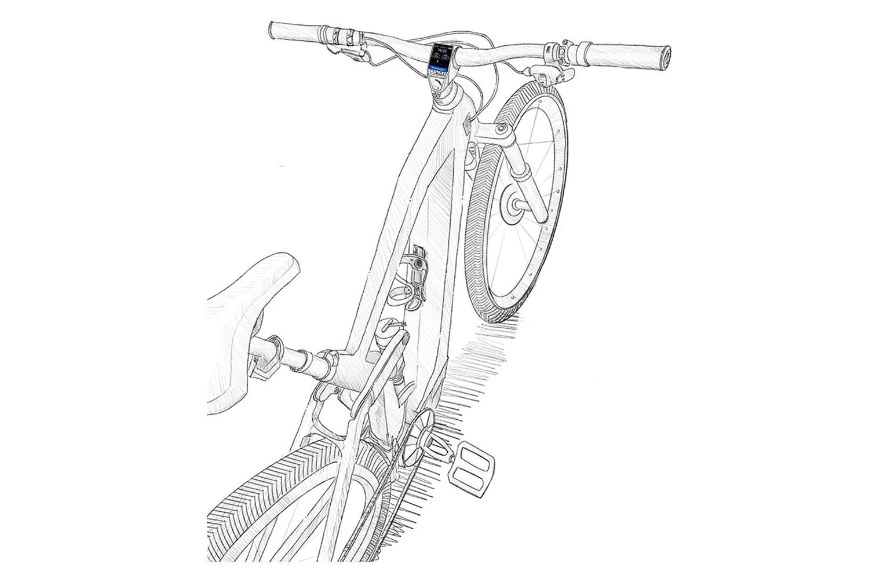 E-Bike Display TFT LCD